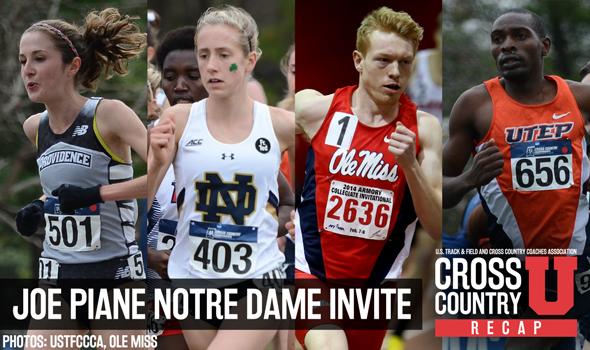 MEET RECAP: Joe Piane Notre Dame Invitational