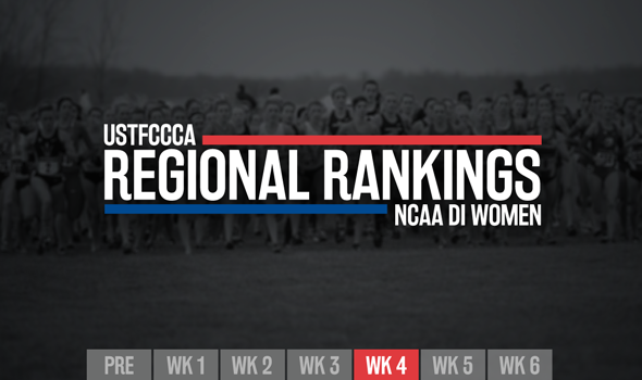 Three New No. 1 Teams In Week 4 NCAA D1 Women's XC Regional Rankings