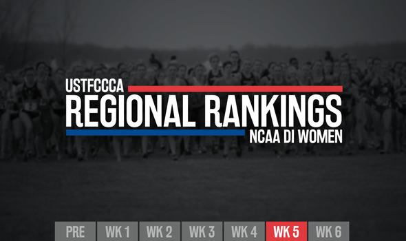 Nuttycombe And Pre-Nats Shake Up NCAA DI Women's XC Regional Rankings