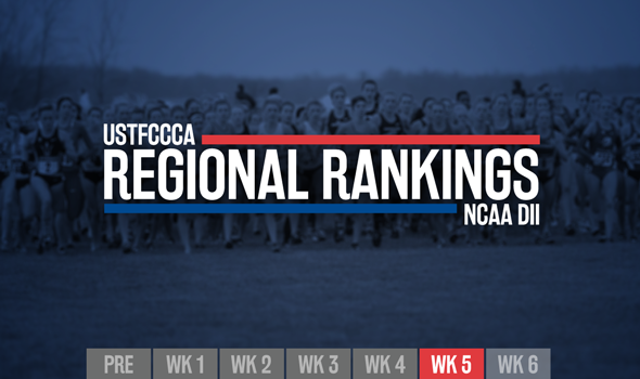 New No. 1 Emerges in Newest NCAA DII Regional Rankings