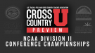 WEEKEND PREVIEW: NCAA DII Conference Championships