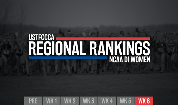 Teams Jockey For Position In Final NCAA DI Women's XC Regional Rankings