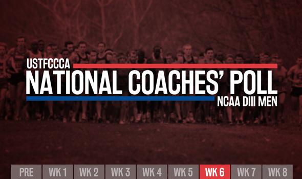 Top-Ranked Teams Jockey For Position In NCAA DIII Men's XC Poll