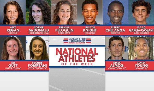 NCAA & NJCAA XC National Athletes of the Week (October 17)