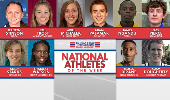 NCAA & NJCAA XC National Athletes of the Week (October 24)