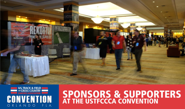 Sponsors & Supporters at the USTFCCCA Convention