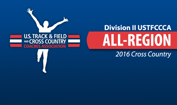 Division II XC All-Region Honorees Announced for 2016