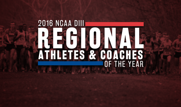 2016 NCAA DIII XC Region Athletes & Coaches of the Year