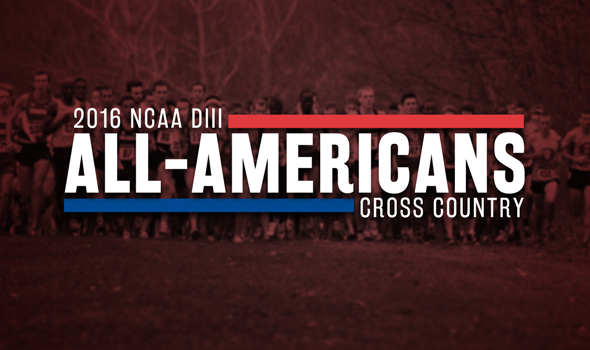 2016 USTFCCCA All-Americans For NCAA DIII Cross Country