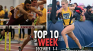 Top-10 Marks of the Collegiate Weekend: December 1-4, 2016
