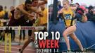 Top-10 Marks of the Collegiate Weekend: December 1-4, 2016