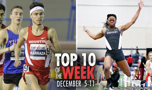 Top-10 Marks of the Collegiate Weekend: December 5-11, 2016