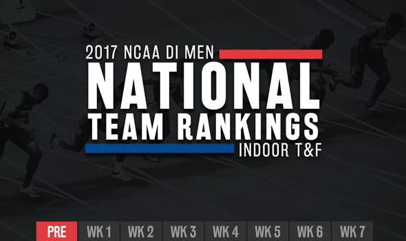 SEC Leads NCAA DI Men's Indoor Preseason National Team Rankings