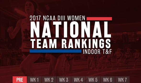 NCAA DIII Women's ITF Team Rankings Make 2017 Debut