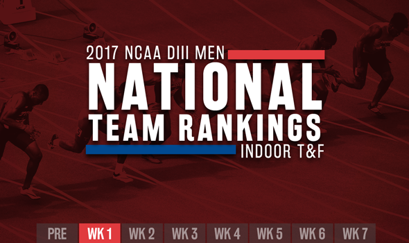 Minimal Movement In NCAA DIII Men's ITF Rankings