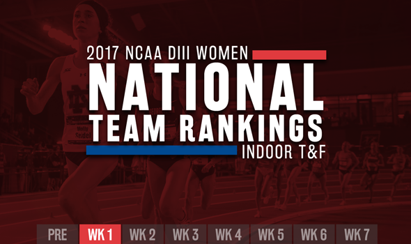 New No. 1 Headlines NCAA DIII Women's ITF Rankings