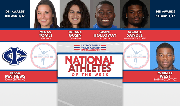 NCAA & NJCAA ITF National Athletes of the Week (January 10)