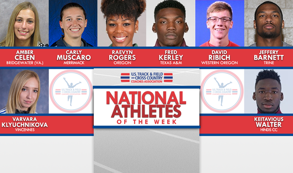 NCAA & NJCAA ITF National Athletes of the Week (January 31)
