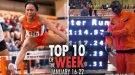 Top-10 Marks of the Collegiate Weekend: January 16-22, 2017
