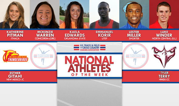 NCAA & NJCAA ITF National Athletes of the Week (January 17)