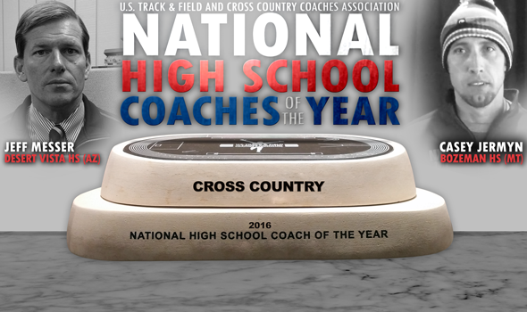 USTFCCCA Names National High School Cross Country Coaches of the Year