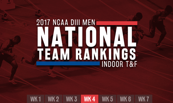 New No. 1 Rises In NCAA DIII Men's ITF Week 4 Rankings