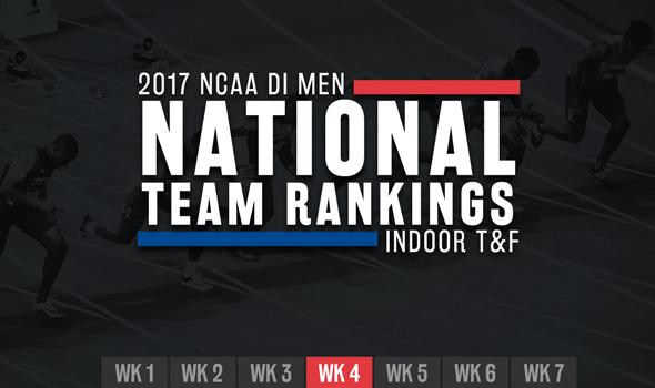 Big Changes In Week 4 Of NCAA DI Men's Rankings