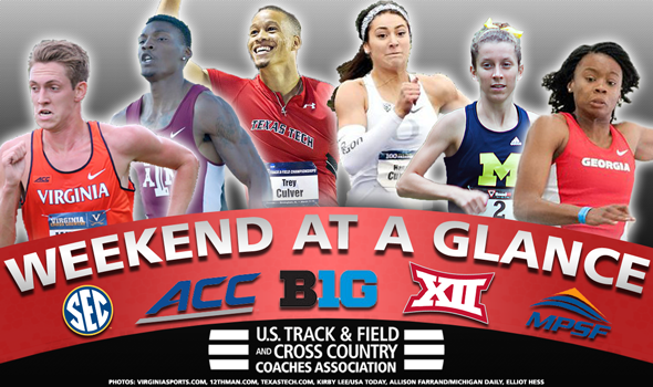 WEEKEND PREVIEW: NCAA DI Indoor Conference Championships