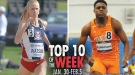 Top-10 Marks Of The Collegiate Weekend: January 30-February 5, 2017