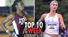 Top-10 Marks Of The Collegiate Weekend: February 6-12, 2017
