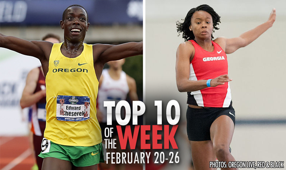 Top-10 Marks Of The Collegiate Weekend: February 20-26, 2017