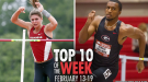Top-10 Marks Of The Collegiate Weekend: February 13-19, 2017