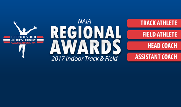 NAIA Regional Award Winners For 2017 Indoor Season