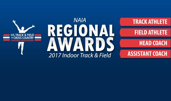 NAIA Regional Award Winners For 2017 Indoor Season