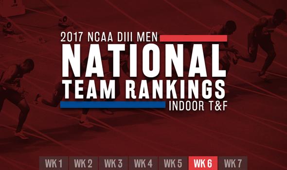 Big Changes In NCAA DIII Men's ITF Rankings In Week 6
