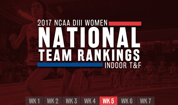 Jumbled-Up Top-25 In NCAA DIII Women's ITF Rankings