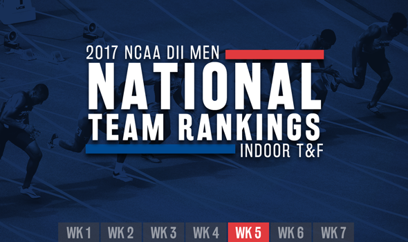 Two New Teams Shoot Into Top-15 of NCAA Men's DII Rankings