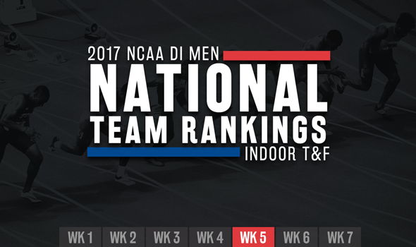 Things Tighten Up In Top-5 Of NCAA DI Men's ITF Rankings