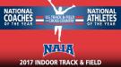 NAIA National Award Winners For 2017 Indoor Season