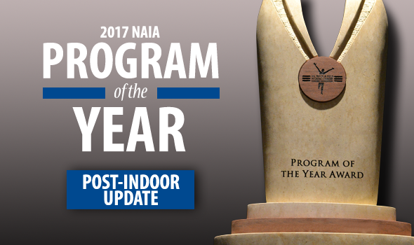 NAIA Program of the Year Standings Update – Post-Indoor
