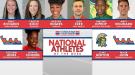 NCAA & NJCAA Outdoor National Athletes of the Week (April 18)