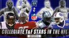 Collegiate Track & Field Stars In The NFL