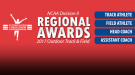 NCAA DII Regional Award Winners For 2017 Outdoor T&F Season