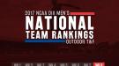 2017 NCAA DIII Men's Outdoor Team Rankings – Week 8