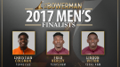 Men's Finalists Announced For The Bowerman 2017