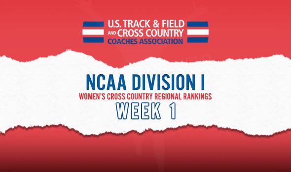 2019 NCAA DI Women's Cross Country Regional Rankings ...