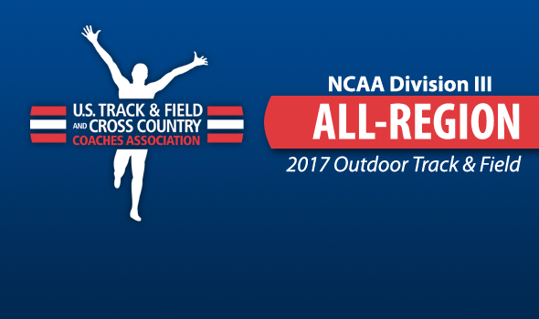 All-Region Honorees For 2017 NCAA DIII Outdoor Track & Field