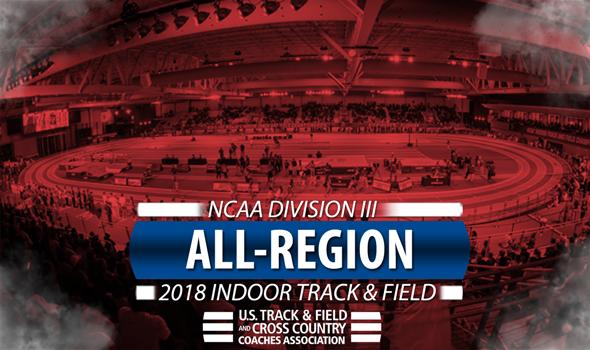 2018 NCAA DIII Indoor Track & Field All-Region Honorees