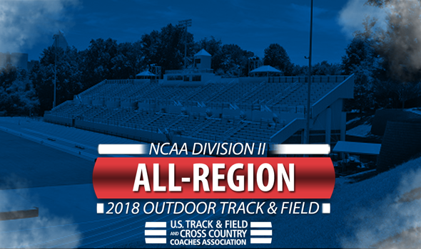 2018 NCAA DII Outdoor Track & Field All-Region Honorees ::: USTFCCCA