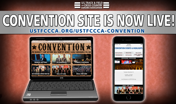 Website For 2018 USTFCCCA Convention Is Now LIVE! ::: 2019